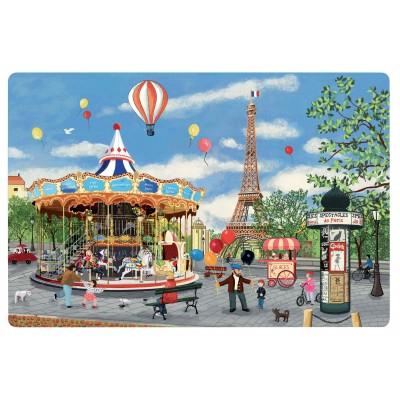 Set de table Carrousel Tour Eiffel Assortis 30 x 45