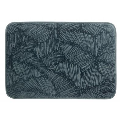 Tapis de bain Palme Bleu 45 x 65