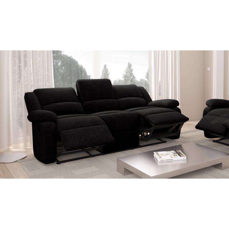 Canapé de relaxation manuel 3 places