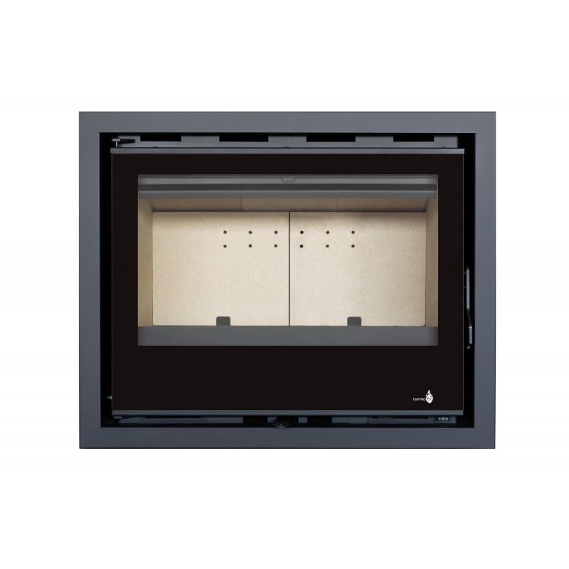 Pour Insert C-140V Option Cadre 4 côtés Verre CADRE 4LV - Dimensions :756x576x40mm