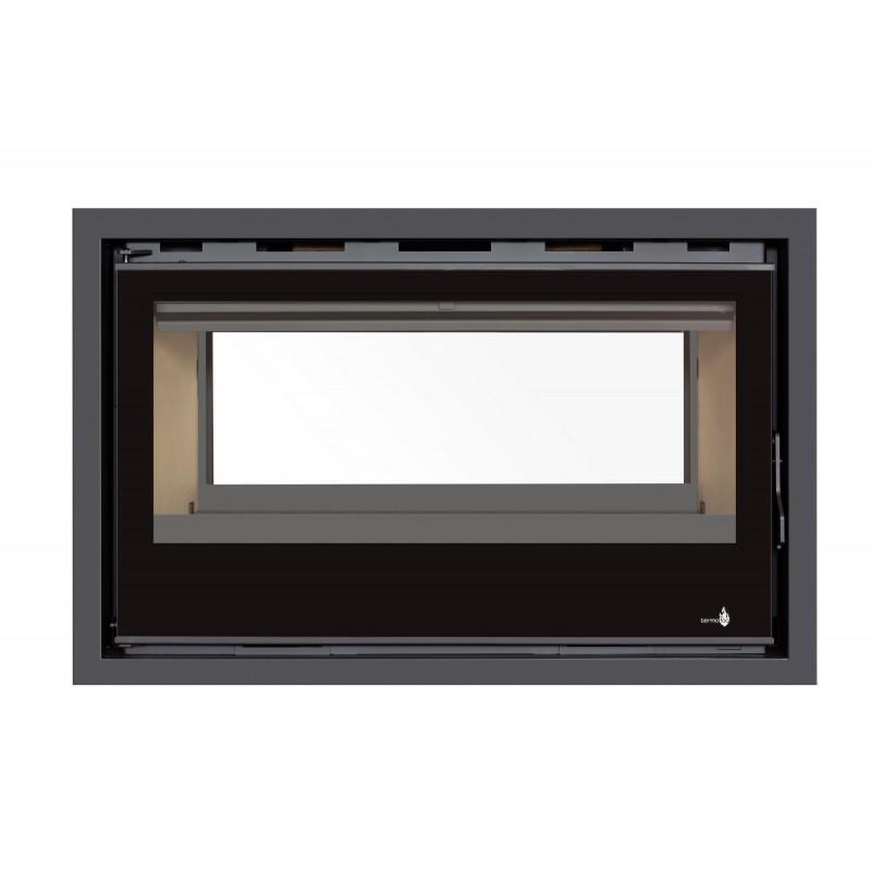 Pour Insert C-290VDF Option Cadre 4 côtés Acier CADRE 4L - Dimensions :956x614x40mm (pour 1 face)