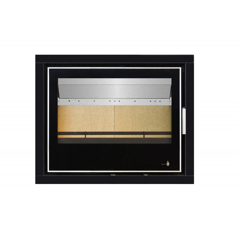 Pour Insert LISBOA-700 Option Cadre 4 côtés Acier CADRE 4L - Dimensions :760x625x40mm