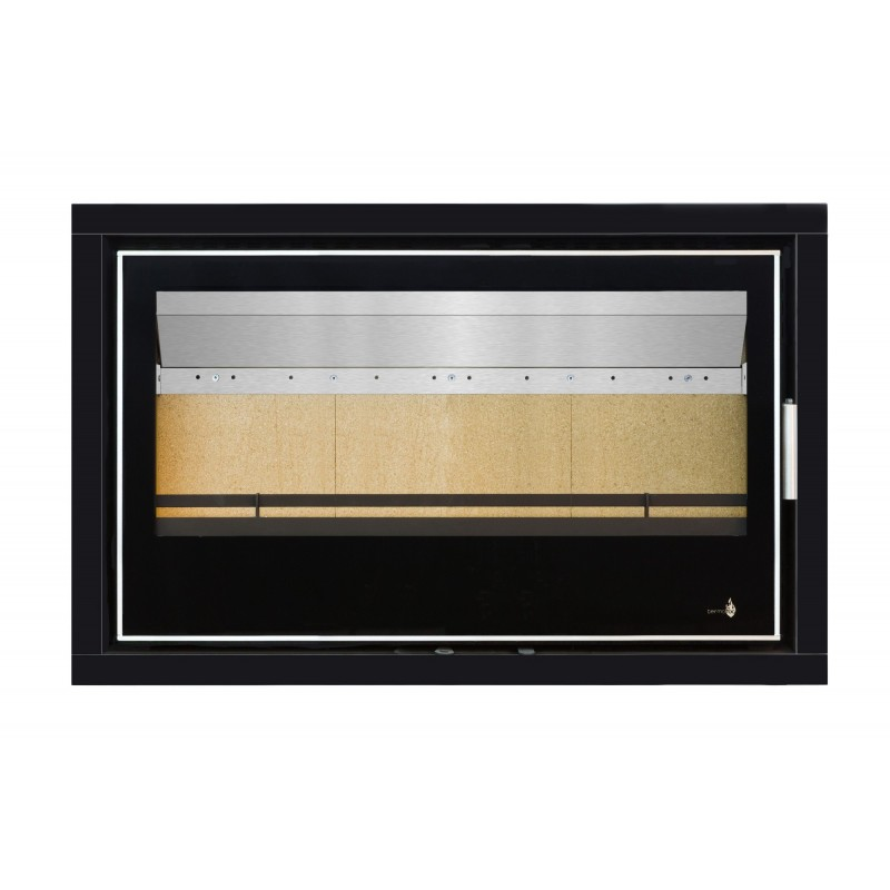 Pour Insert LISBOA-900 Option Cadre 4 côtés Acier CADRE 4L - Dimensions :960x625x40mm