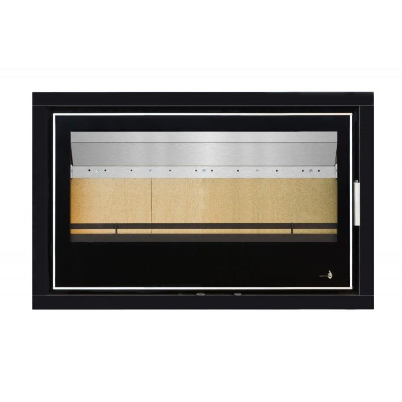 Pour Insert LISBOA-900 Option Cadre 4 côtés Verre CADRE 4LV - Dimensions :960x625x40mm