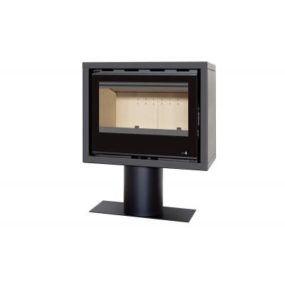 Pour Insert Poêle à Bois SL-140VBOX Option Cache Conduit de Fumée Dimensions: H2000mm x Ø270mm