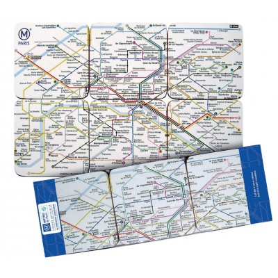 Sous Verres RATP Par 6